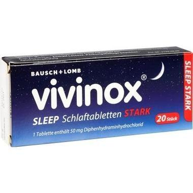 Vivinox® Sleep Schlaftabletten stark