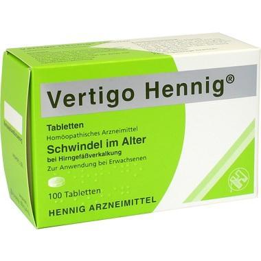 Vertigo Hennig® Tabletten