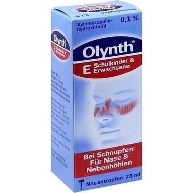 Olynth® 0,1 % Schnupfen Lösung Nasentropfen, Lösung