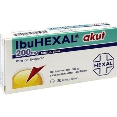 IbuHEXAL® akut 200 mg, Filmtbl.