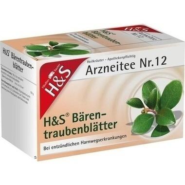 H&S Bärentraubenblättertee Btl.
