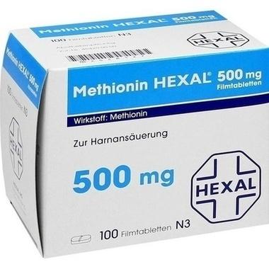Methionin HEXAL® 500 mg, Filmtbl.