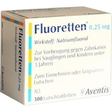 Fluoretten® 0,25 mg