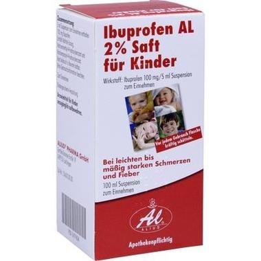Ibuprofen AL 2 % Saft für Kinder