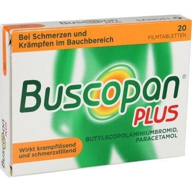 Buscopan® plus 10 mg/500 mg, Filmtabletten