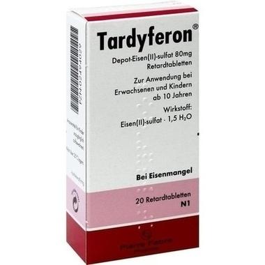 Tardyferon® Depot-Eisen(II)-sulfat 80 mg Retardtabletten