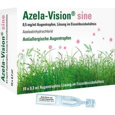 Azela-Vision® sine 0,5 mg/ml Augentropfen im Einzeldosisbehältnis