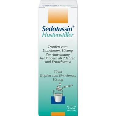Sedotussin® Hustenstiller 30 mg/ml Tropfen, Tropfen zum Einnehmen, Lösung