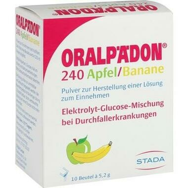 Oralpädon® 240 Apfel-Banane Pulv. z. Herstell. e. Lsg. z. Einn.