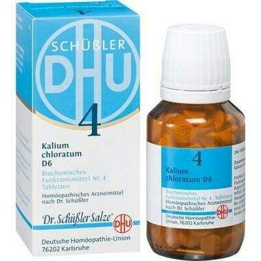 Biochemie 4 Kalium chloratum D6 DHU Tbl.