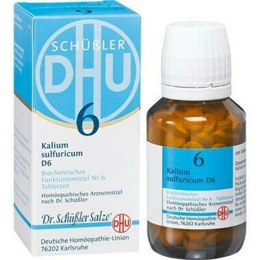 Biochemie 6 Kalium sulfuricum D6 DHU Tbl.