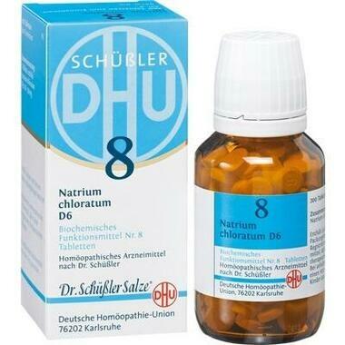 Biochemie 8 Natrium chloratum D6 DHU Tbl.