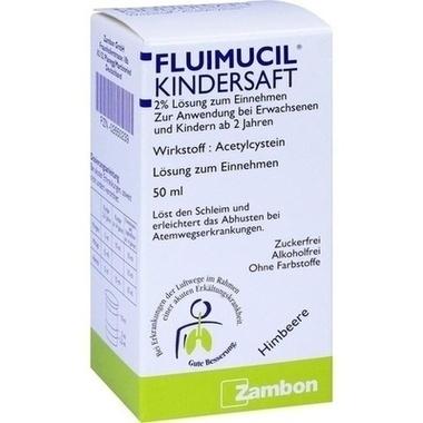 Fluimucil Kindersaft 2% Lösung zum Einnehmen