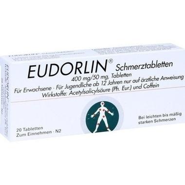 EUDORLIN® Schmerztabletten 400 mg/50 mg, Tabletten