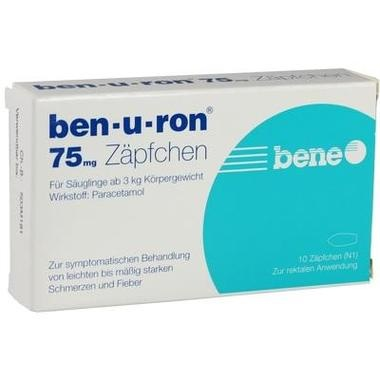 ben-u-ron® 75 mg Zäpfchen
