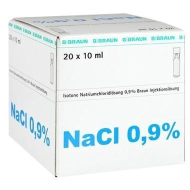 Isotone Natriumchloridlösung 0,9% Braun Mini-Plasco® connect 10ml