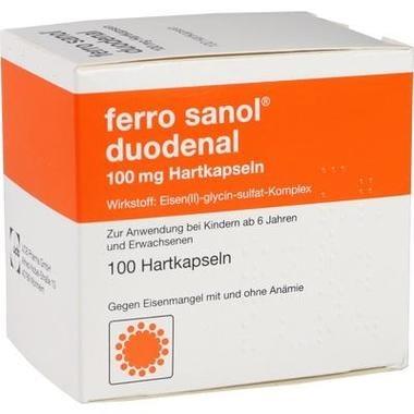 ferro sanol® duodenal 100mg Hartkapseln