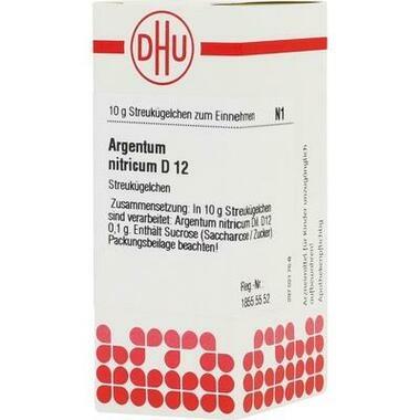 Argentum nitricum D12 DHU Globuli