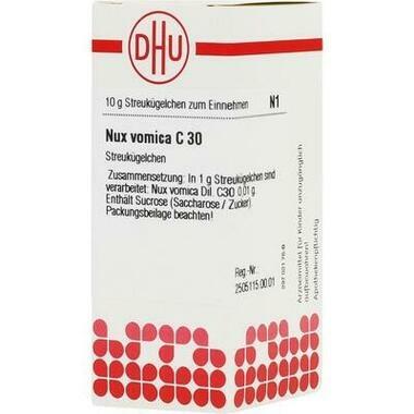 Nux vomica C30 DHU Glob.