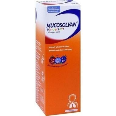 Mucosolvan® Kindersaft 30mg/5ml, Lösung zum Einnehmen
