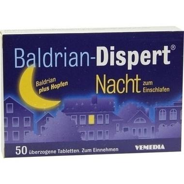 Baldrian-Dispert® Nacht zum Einschlafen