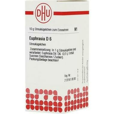 Euphrasia DHU D6 Glob.