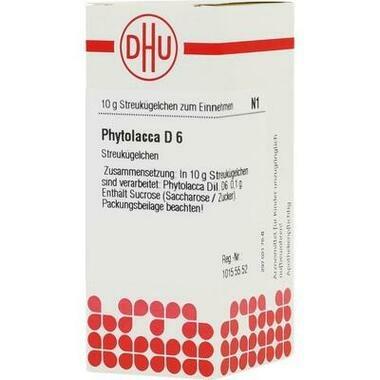 Phytolacca DHU D6 Glob.