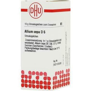 Allium cepa D6 DHU Globuli