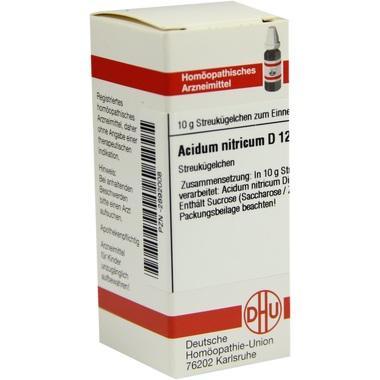 Acidum nitricum D12 DHU Globuli