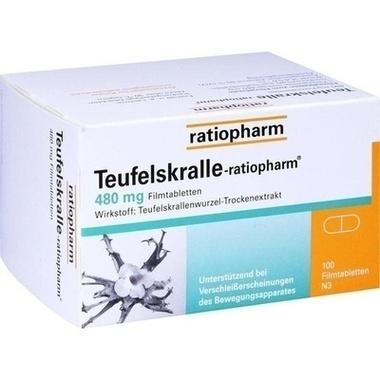 TEUFELSKRALLE-ratiopharm® Filmtabletten