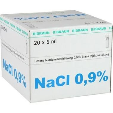 Kochsalzlösung 0,9% Braun Miniplasco connect 5ml