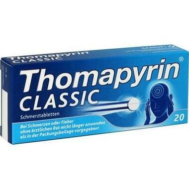 Thomapyrin classic Schmerztbl.