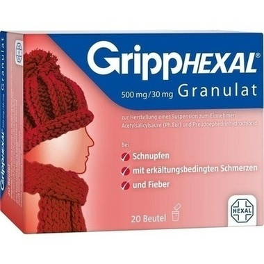 GrippHEXAL® 500 mg/30 mg Granulat zur Herstellung einer Suspension zum Einnehmen