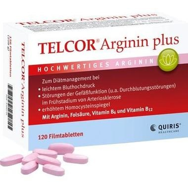 TELCOR® Arginin plus, Filmtbl.
