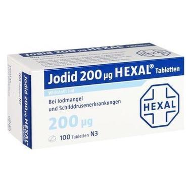 Jodid 200 µg HEXAL®, Tabl.