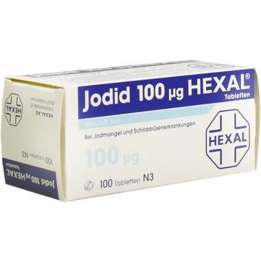 Jodid 100 µg HEXAL®, Tabl.