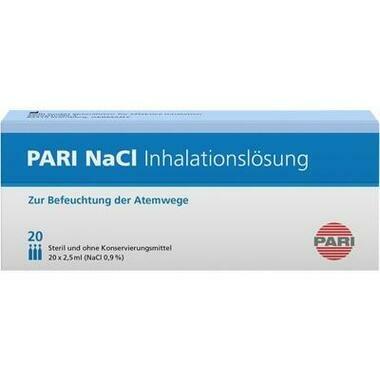 Pari-NaCl Inhalationslösung Amp.