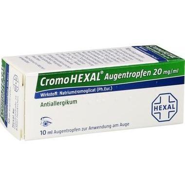 CromoHEXAL® Augentropfen, 20 mg/ml Augentropfen