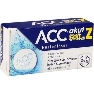 ACC® akut 600 mg Z Hustenlöser, Brausetbl.