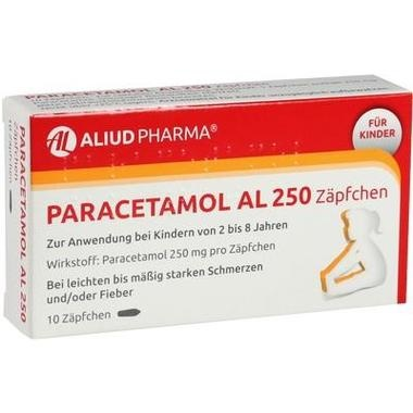 Paracetamol AL 250 Zäpfchen