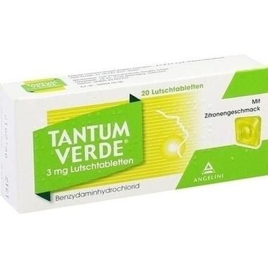 Tantum Verde® mit Zitronengeschmack 3mg Lutschtabletten