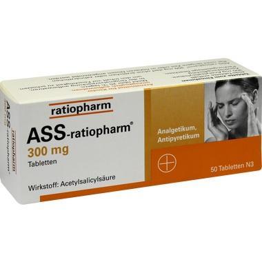ASS-ratiopharm® 300 mg, Tabletten