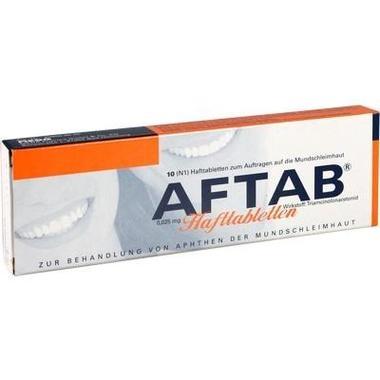 AFTAB® 0,025 mg Hafttabletten