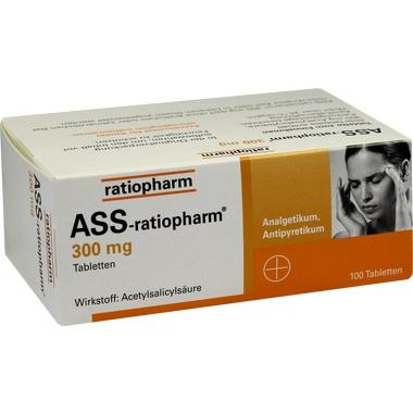 ASS-ratiopharm® 300 mg, Tabletten
