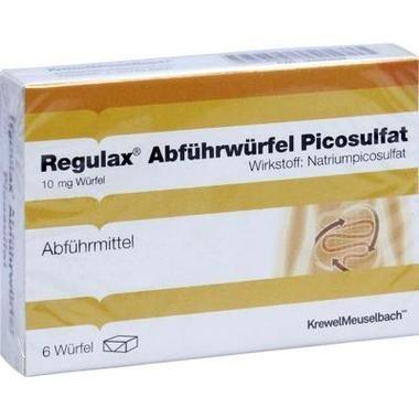 Regulax® Abführwürfel Picosulfat 10 mg Würfel