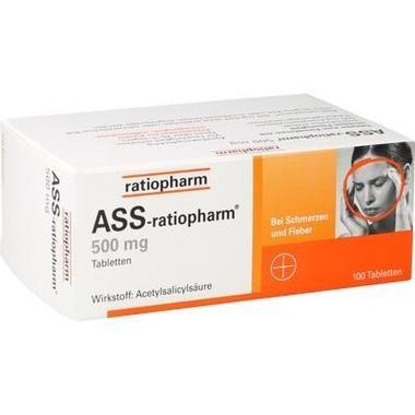 ASS-ratiopharm® 500 mg, Tabletten