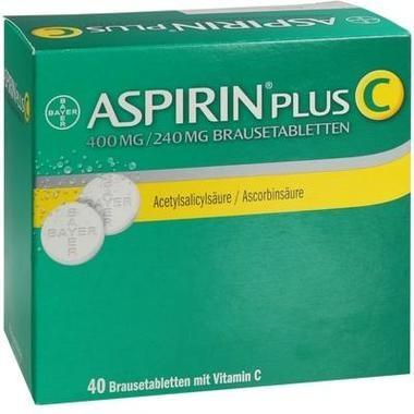 Aspirin® Plus C, Brausetbl.