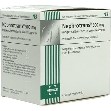 Nephrotrans® 500 mg magensaftresistente Weichkapseln