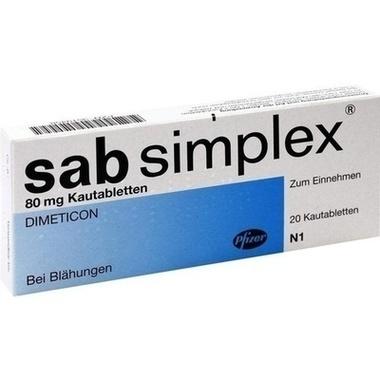 sab simplex®, 80 mg Kautabletten