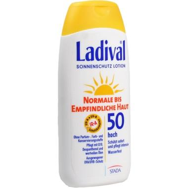 Ladival® normale bis empfindliche Haut Lotion LSF50